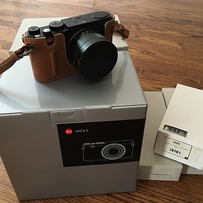 FS: Leica X Typ 113 with SquareTrade Warranty and Accessories