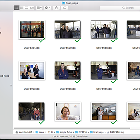 Different border on Mac for jpgs from LR or PS?