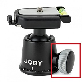 Gorillapod ball head tightener - thread size?