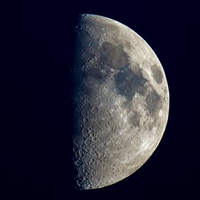 First time Shooting Moon with Telescope