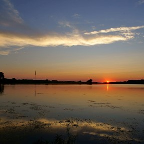 Recent Potomac sunsets