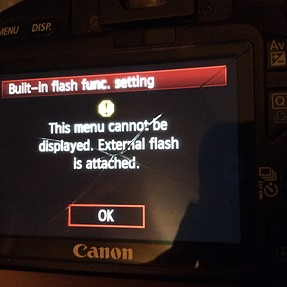 550d flash won't pop up, micro switch is loose