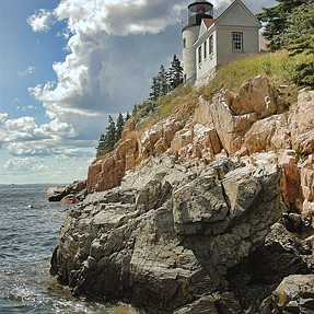 Rework of lighthouse in Maine