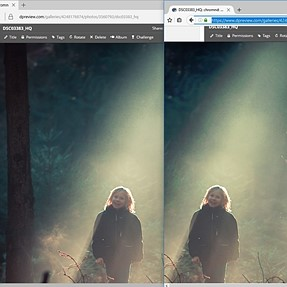 JPEG differently rendered in MS Edge browser and Firefox / Chrome