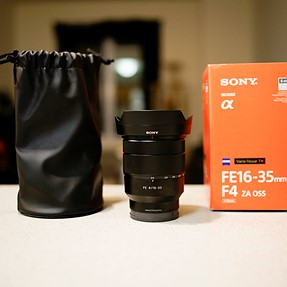 For Sale: Sony FE 16-35mm f/4 Lens