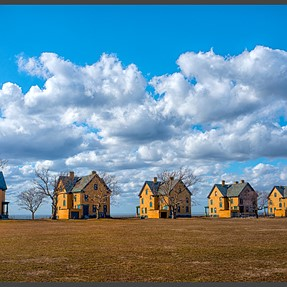 Little boxes on the shoreside, little boxes all the same ...