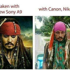 Sony A9 sample photos leaked