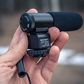 A $36 Shotgun Microphone...