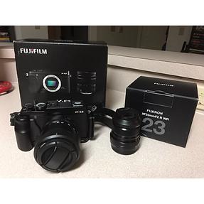 Trade Fuji X-E2/18-55mm lens plus extras for Pentax DSLR