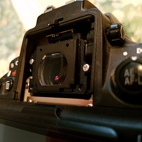 """Does anyone know of a """"Camera Wrecking Yard"""". I need a External Viewfinder Assembly for a D800!"""