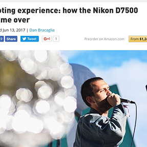 (DPReview) Shooting experience: how the Nikon D7500 won me over..