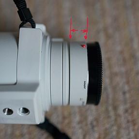 Minolta 300mm 2.8, movement query