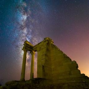 The Sanctuary Of Apollon Hylates In Cyprus.