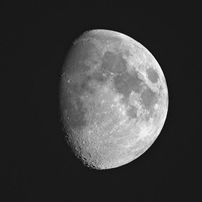 Moon with B700