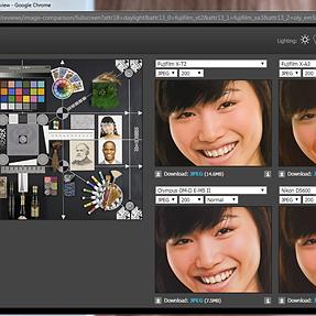 studio scene comparison tool