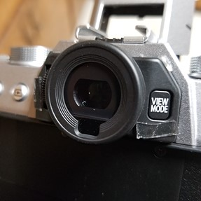 Junk in my evf