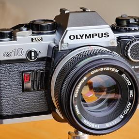 Olympus camera found in loft!