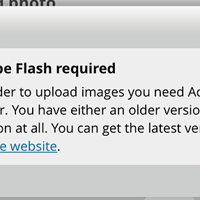 Challenge Entries without Flash?