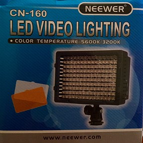Does anyone use an LED video light?