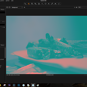 Capture one radical color change in diferent monitor
