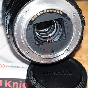 18-55 f2.8 - f4 lens fault