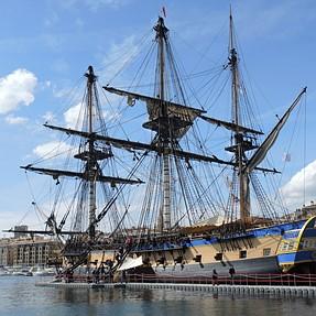 Wooden ship...