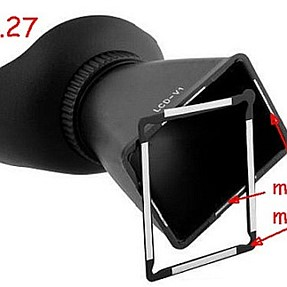 LCD viewer for cameras without/with EVF