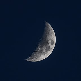 Sigma 100-400mm moon shot (Nikon D500)