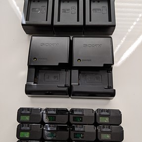 Genuine Sony NP-FW50 Batteries, Chargers