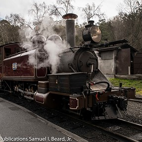 Puffing Billy Railroad + D850 + Tamron 24-70 G2