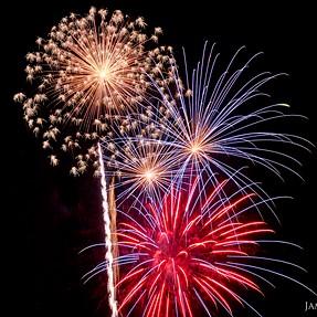 July 4th firework creativity