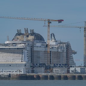 Where the biggest cruise ships in the world are built ..