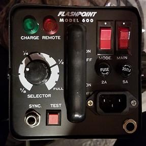Question about older Flashpoint 600 Monolight