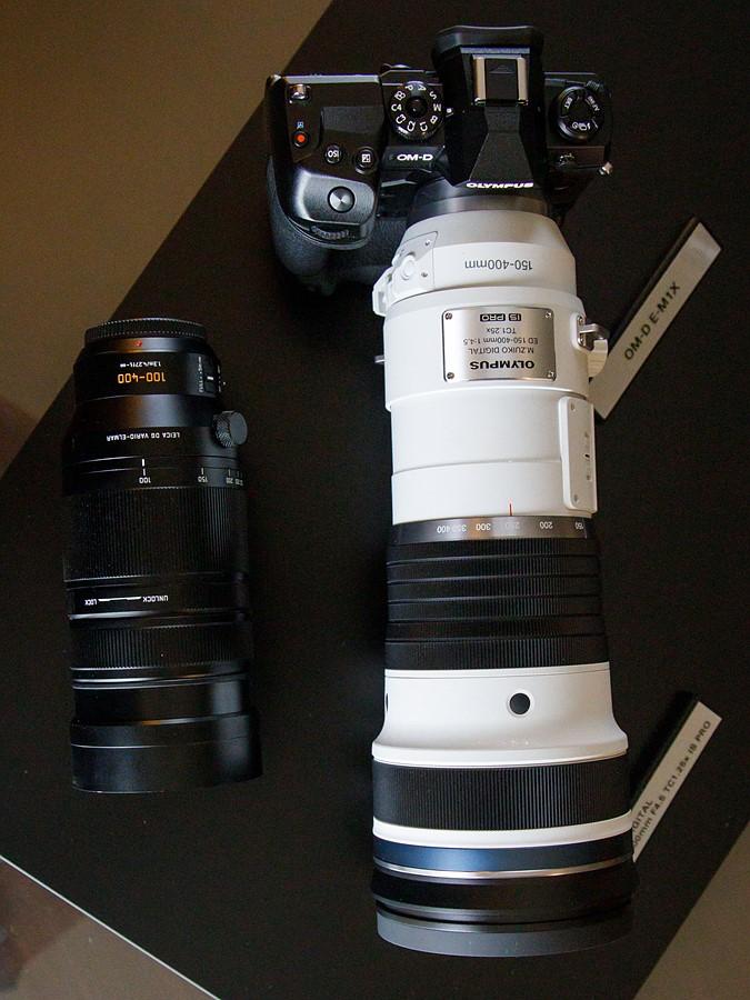 Olympus 150-400mm f/4.5 ou f/4 8040441756