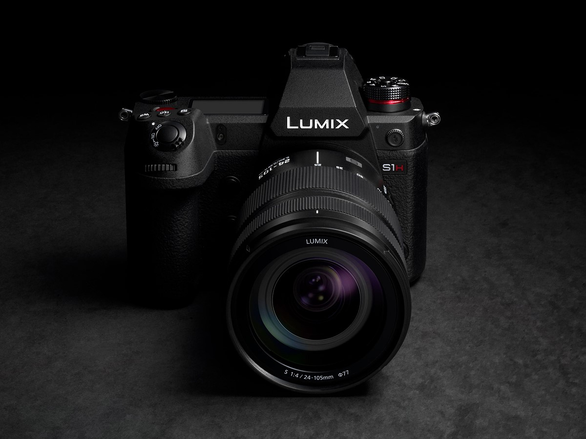 Panasonic Launches a New Full-Frame Mirrorless Camera, the LUMIX S1H with Cinema-Quality Video and the World's First 6K/24p (3:2)*1 Recording Capability