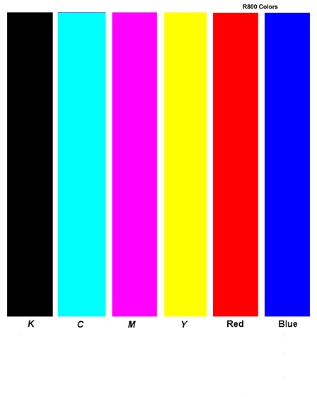 Re Epson R1800 Which Colors In Nozzle Check Pattern