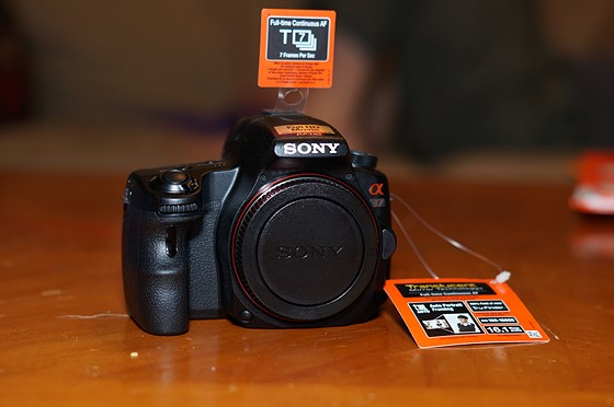 FS Sony Alpha a37 new body only : For Sale and Wanted Forum