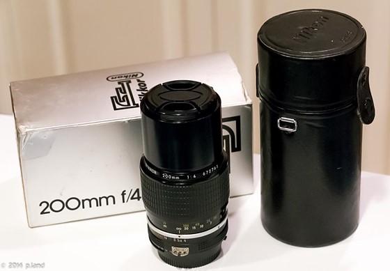 nikon nikkor 200mm f 4 ai manual focus lens 99 plus shipping obo rh dpreview com Nikon D5300 Manual Nikon Instruction Manuals