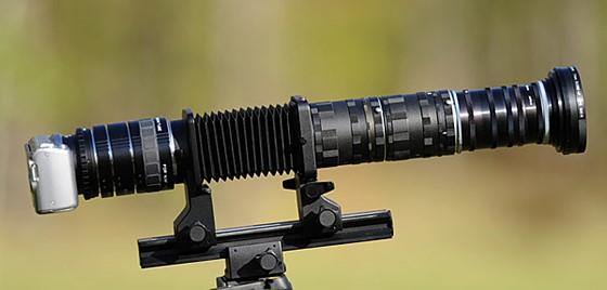 Build a Super Telephoto Lenses w/o Using a Camera Lens ...