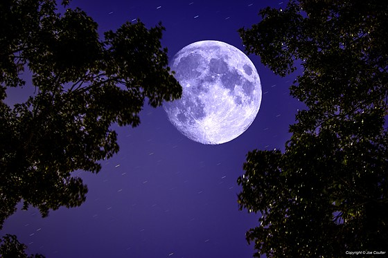 Started the night shooting the moon   : Canon EOS 7D / 10D - 80D