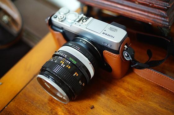 Canon FD 50/1 4 S S C  on X-E1: Fujifilm X System / SLR Talk Forum