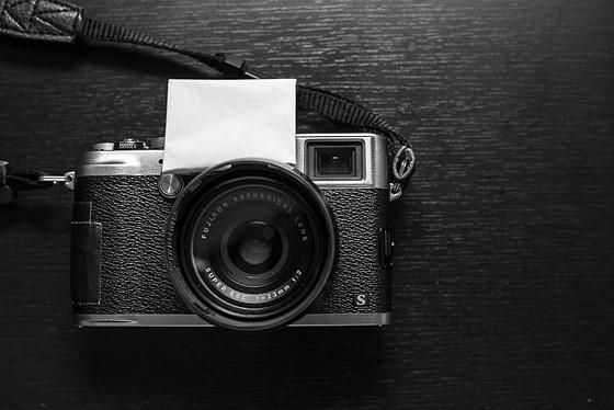 Softbox for the Fuji X100 series internal flash!: Fujifilm X