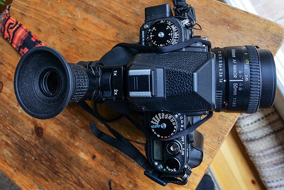 Digital Angle Finder >> Nikon Df Accessories: Nikon DR-5, Aokatec GPS AK-Gf, Matin LCD Viewfinder: Nikon FX SLR (DF, D1 ...