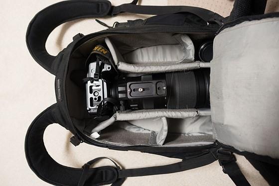 Lowepro Flipside 400 Aw For New 200 500 Nikon Slr Lens