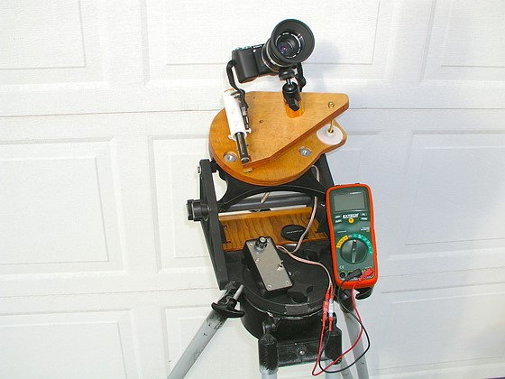 Looking For A Simple Motorized Mount For Camera Astrophotography