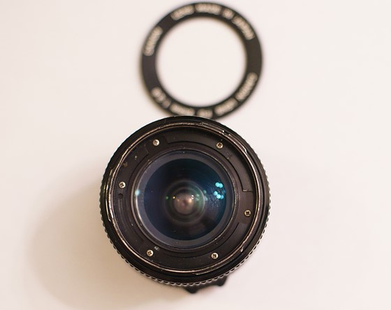 FD Lens Bushing Repair - Here's a How To for the Canon FD 24mm f2 8