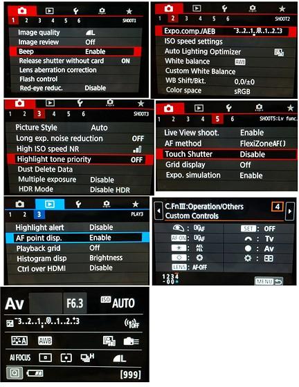 80D with 100-400 settings: Canon EOS 7D / 10D - 80D Talk