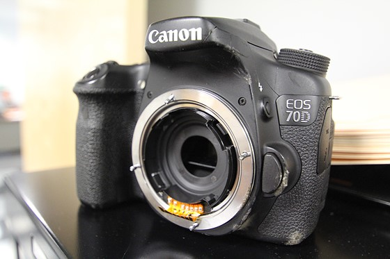 70d recently damaged any worth fixing or selling for parts pics
