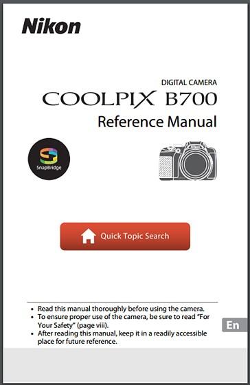 reference manual nikon coolpix b700 nikon coolpix talk forum rh dpreview com Proper Resume Format for Reference Proper MLA Works Cited Page