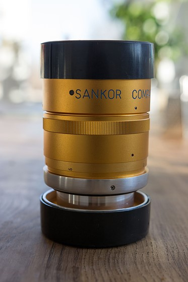 Sankor 2x Single focus Anamorphic Cinemascope Lens: For Sale